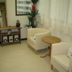 治療院の待合室