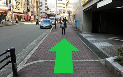 ゆるい坂道画像