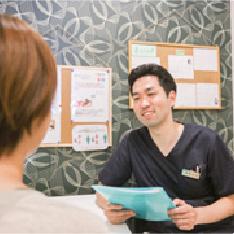 ミントはり鍼灸院内写真
